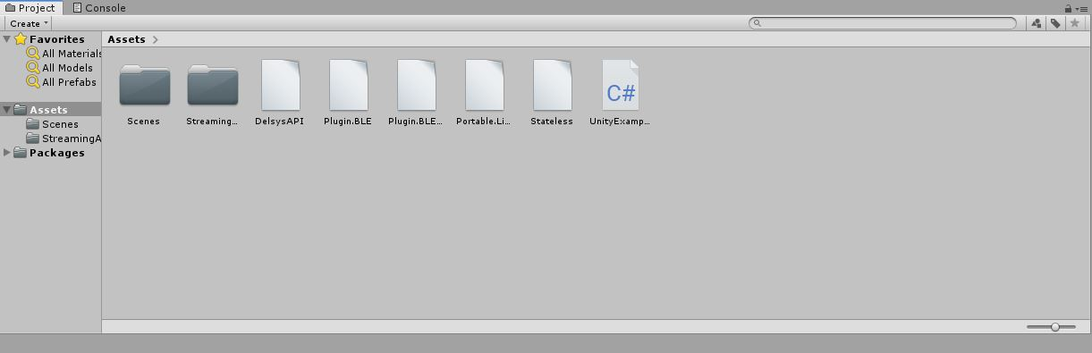 Delsys API Integration with Unity